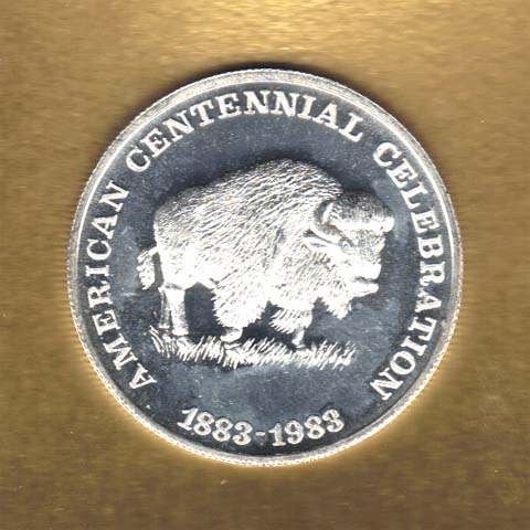 American Bison silver coin