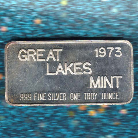 Great Lakes Mint 1973 Silver