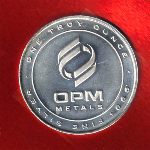 OPM silver rounds