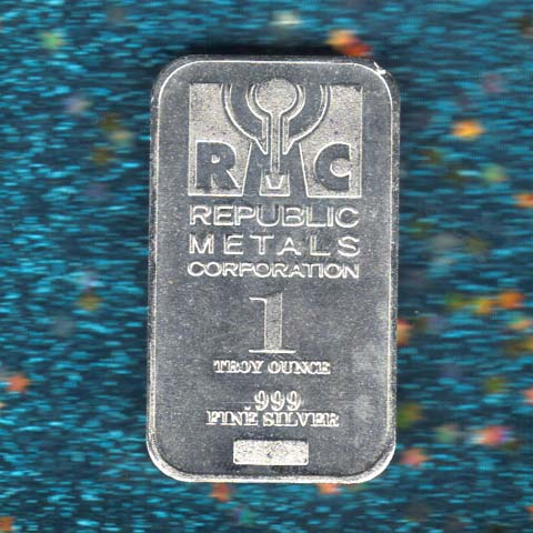 Republic Metals Silver Bar
