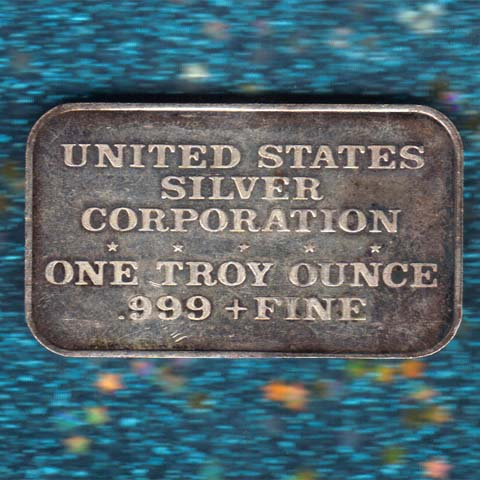 US Silver Corp bars
