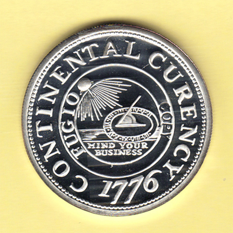 Continental Silver Currency