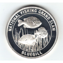 fishing 1 oz silver round coin