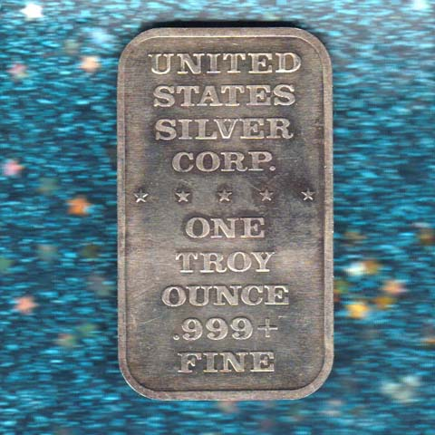 Silver Bars Made in United States