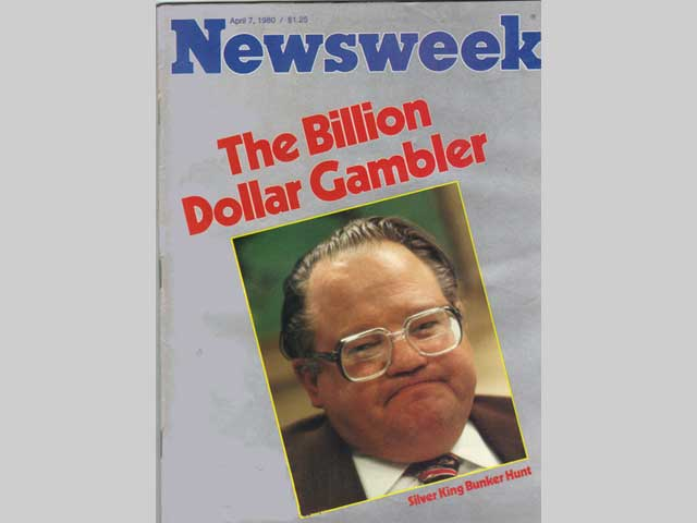 Hunt silver story from Newsweek