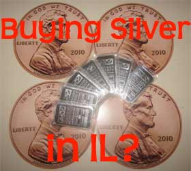 buying silver in Illinois