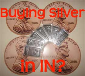 buying silver in Indiana