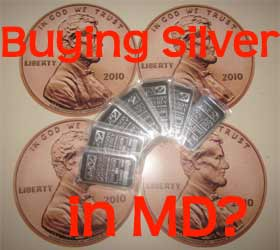 buying silver in Maryland
