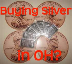 buying silver in Ohio