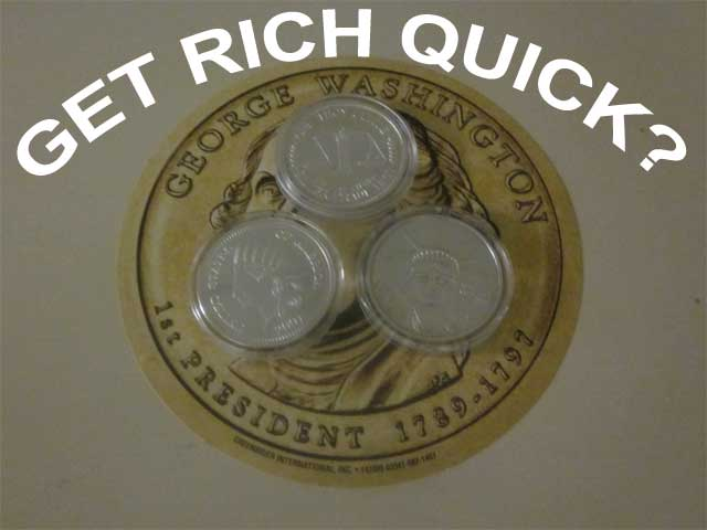 get rich quick with silver
