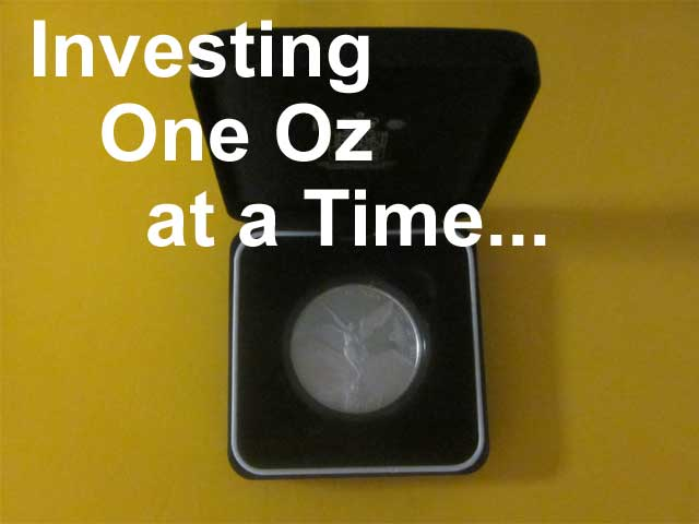 investing one oz silver