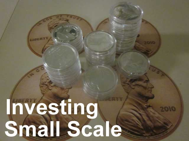 investing wealth small scale