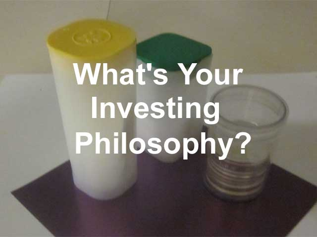 what is your investing philosophy